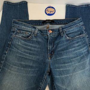 J. Brand-skinny jeans. Medium wash